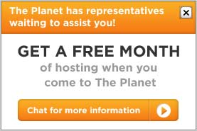 ThePlanet.com offers 1 month of free web hosting
